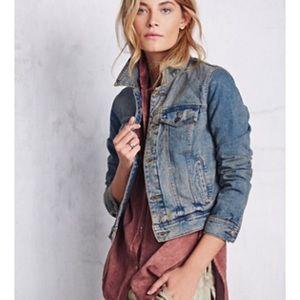 Free People Love Always denim jean jacket
